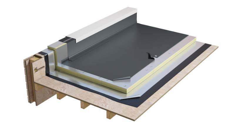Flagon SR DE - Single ply mech. fixed warm roof system (WNB2PFMFBG_001)