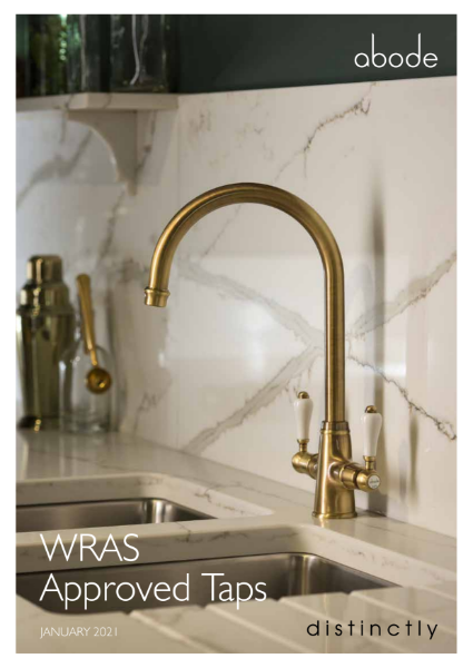 ABODE KITCHEN TAPS - WRAS APPROVED
