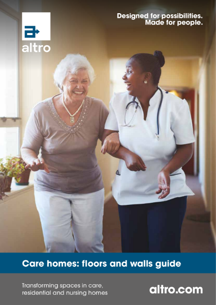 Altro Care Homes Sector Brochure