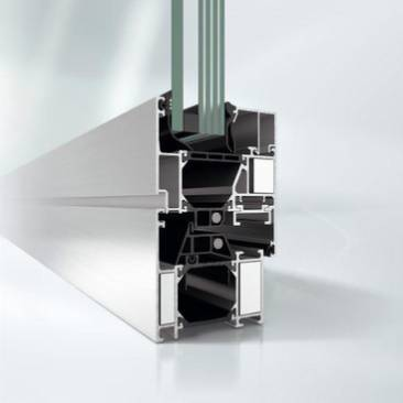 Aluminium fire-resistant window system - AWS 70 FR 30