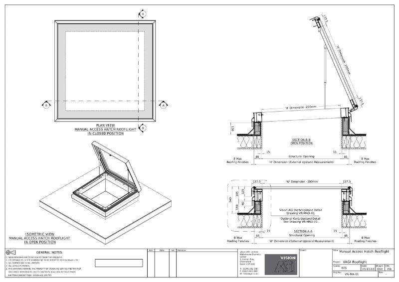 Manual Access Hatch