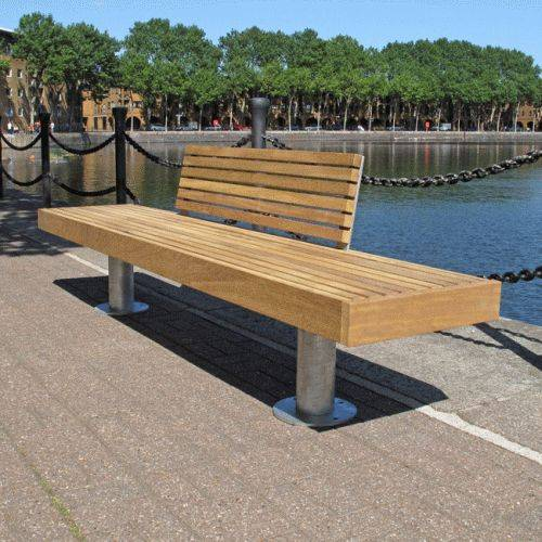 Elements Seat and Bench - Posts
