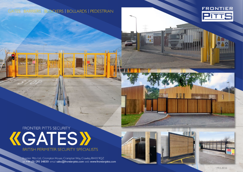 Security Gates Product Guide