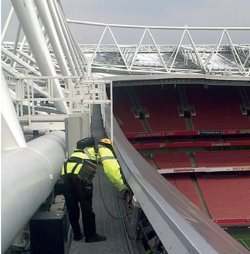 Emirates Stadium: Access Required to Stadium Infrastructure