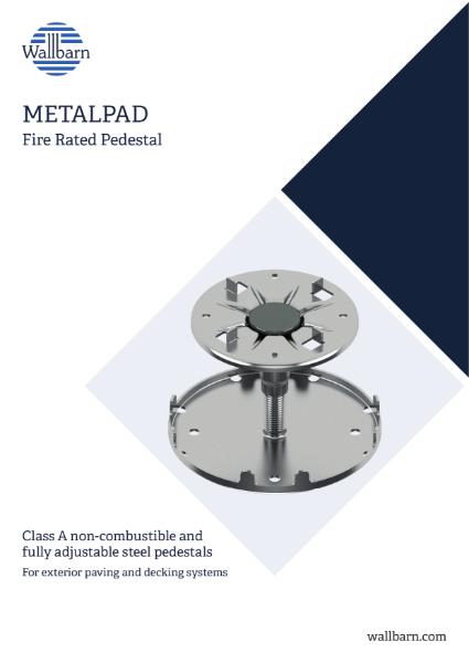 Class A Non-combustible pedestal brochure