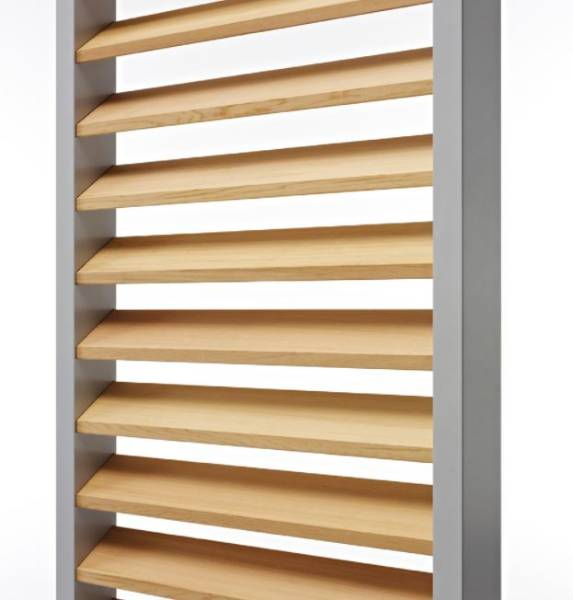 DucoSlide Luxframe 40/80: Lux 80 Wood