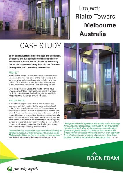Case Study - Rialto Towers