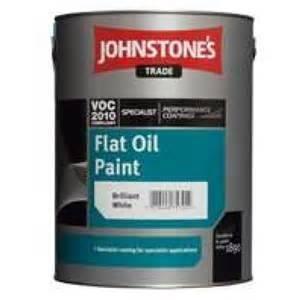 Flat Oil Paint