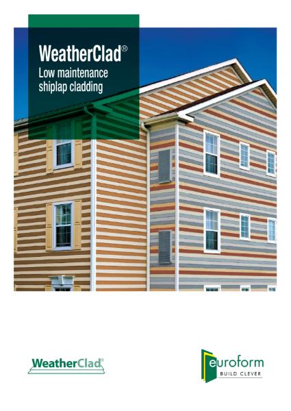 Euroform WeatherClad brochure