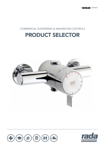 Rada Product Selector - Commercial Washroom Controls