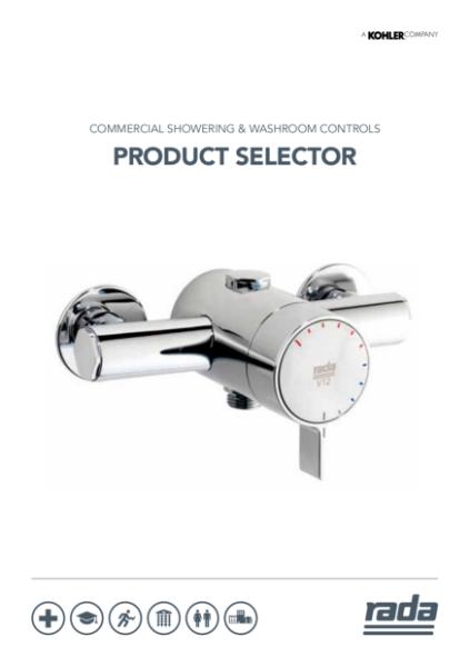 Rada Product Selector - Commercial Washroom Controls