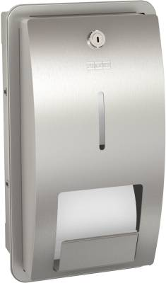Stratos STRX671E recessed toilet roll holder