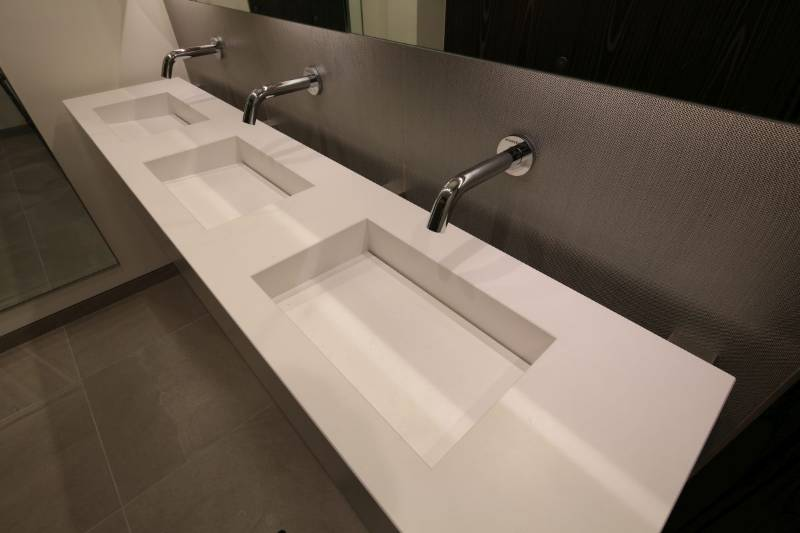 Arpeggio Vanity Units - Silestone