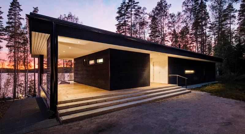 Private villa by Plusarchitects in Finland