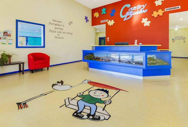 Polyflor flooring chosen for Country Buddies Childcare Centre