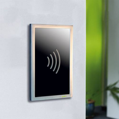 Proximity Architectural Reader - Satin chrome