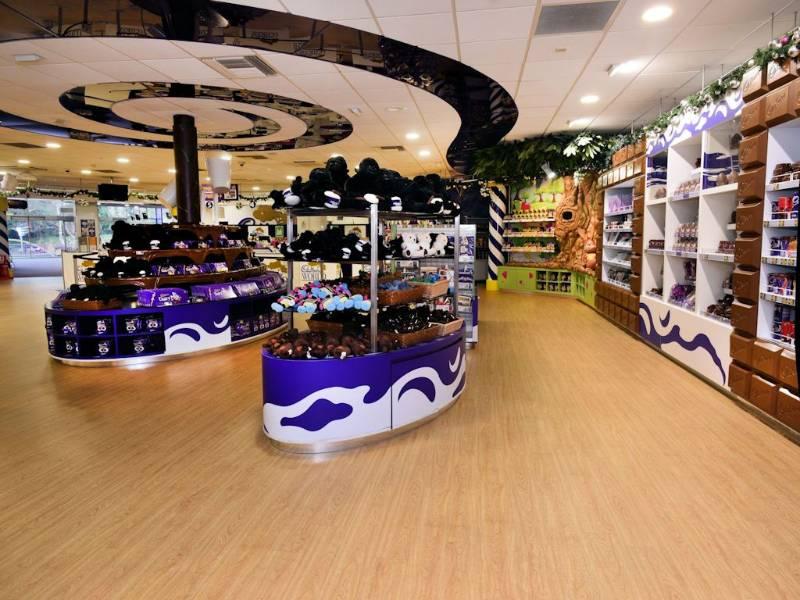 Polyflor's Expona luxury vinyl tiles look sweet at Cadbury World