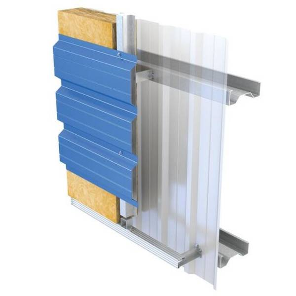 Metal profiled sheet self-supporting cladding systems