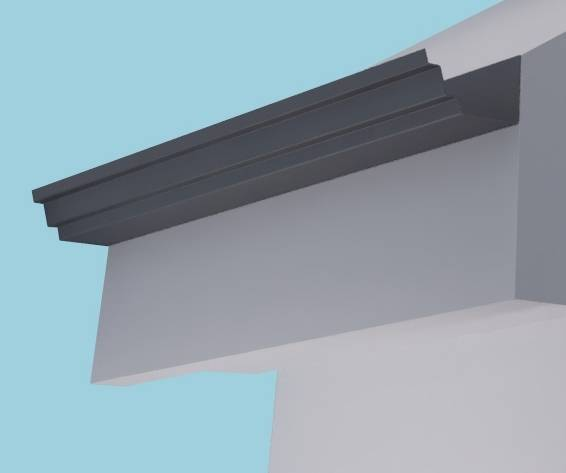 Derwent Aluminium Gutter