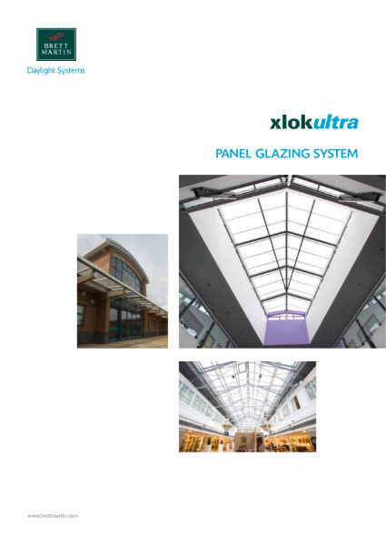 Multiwall Polycarbonate Panel Glazing Systems - Xlok