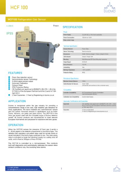 HCF100 Datasheet