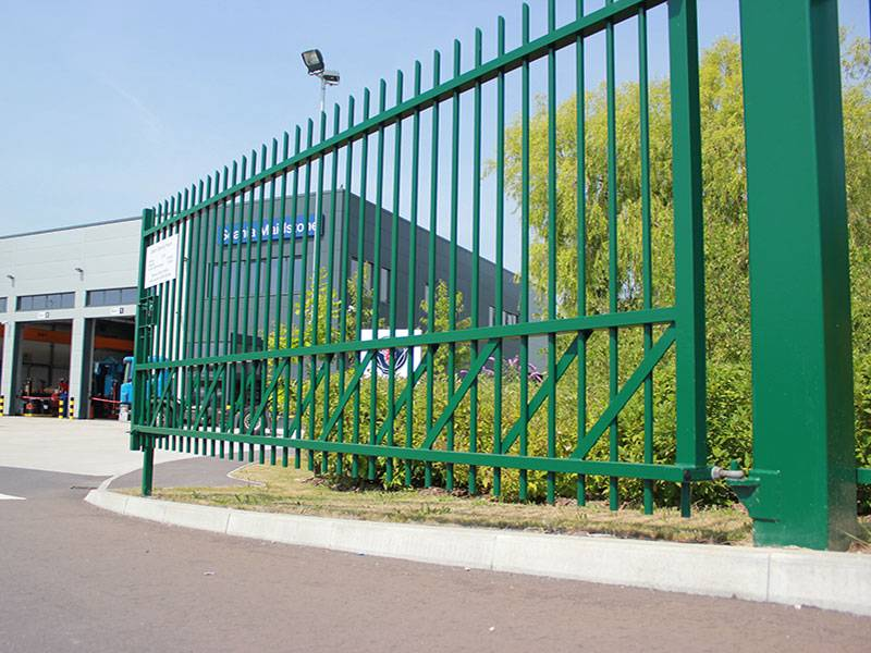 Jacksons Fencing provides the goods for Scania with custom-built perimeter protection