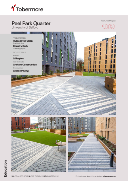 Featured project - Peel Park Quarter, University of Salford