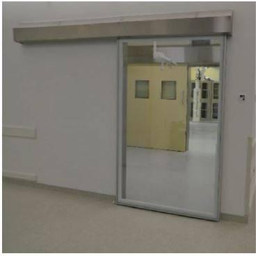 DT5 Hermetic surface sliding bi-parting glass door