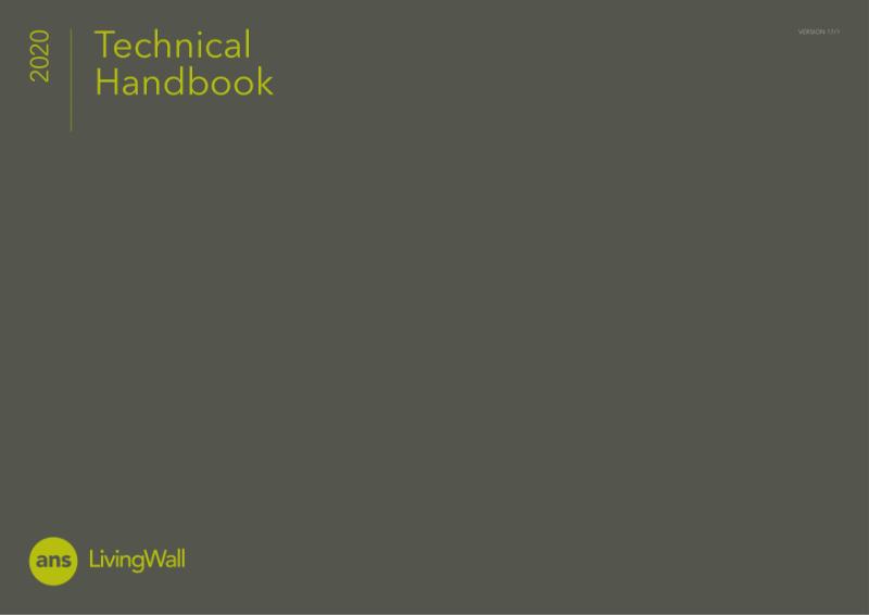 ANS Living Green Wall Technical Handbook