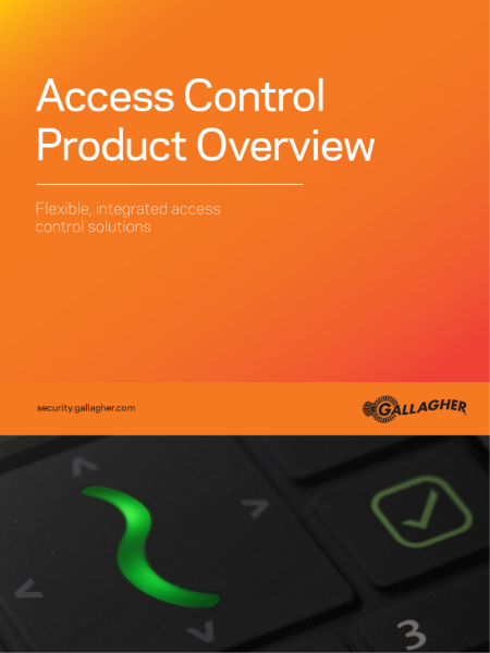 Gallagher access control product catalogue