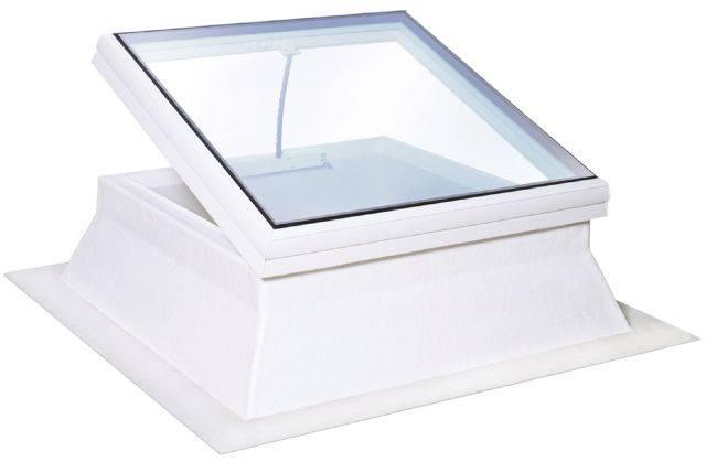 Flat Glass Glazed Rooflight
