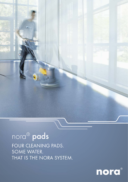nora pads cleaning instructions