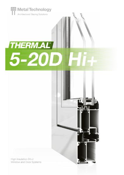 Metal Technology High Insulation Door System