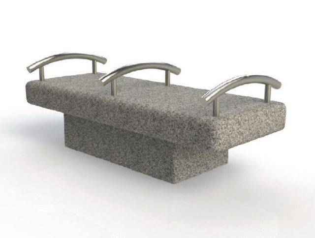 ASF Organic Granite Bench