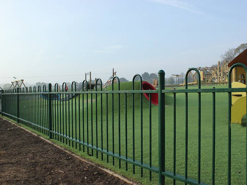 Maidstone Borough Council Safely Secures New Mote Park Play Area with Anti Trap Bow Top Fencing