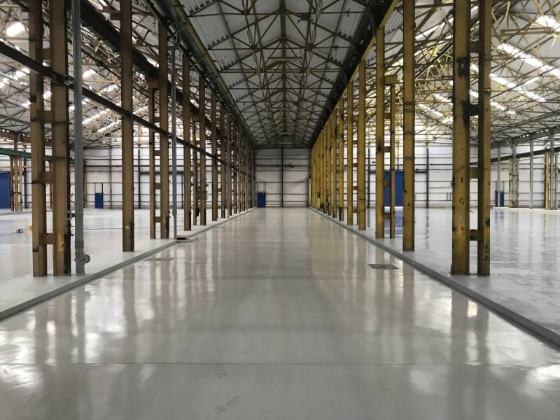 The Copperworks in Leeds required a floor refurbishment over some 30000 square metres - Sherwin-Williams Resucoat HB product provided the solution.