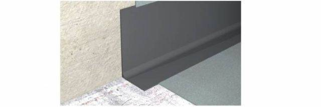 PVC Flexible Set-On Skirting