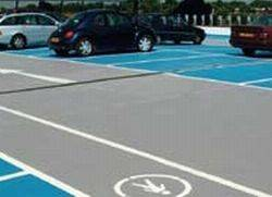 Broadcast Fast Curing Top Deck Car Park System