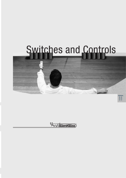 Switches and Controls by Silent Gliss