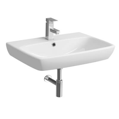 E100 Square 650 Washbasin