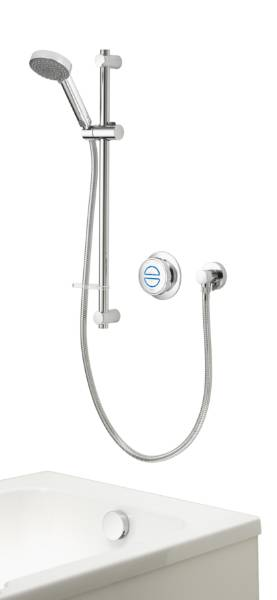Quartz Classic Smart divert concealed adjustable with bath - HP