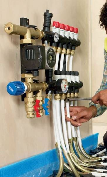 Hep2O Underfloor Heating - Manifold