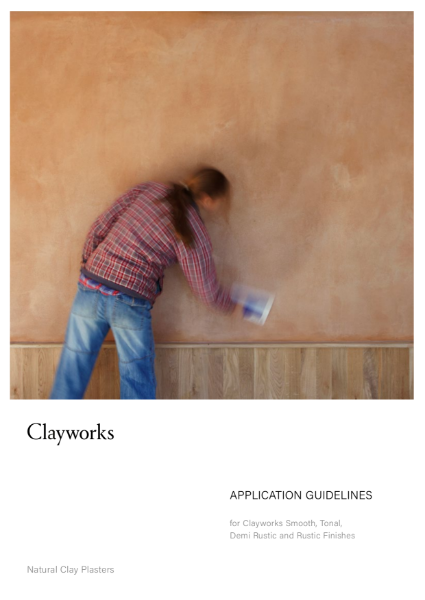clayworks application guidelines