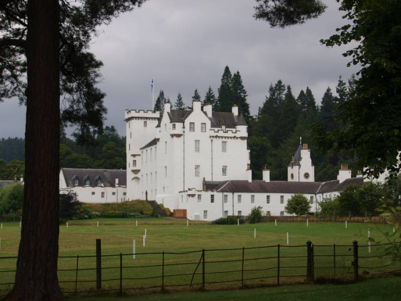 Bilco Roof Access Hatch Provides Safe Roof-top Access at Blair Castle