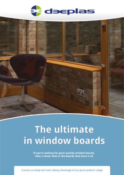 Deeplas Window Board Brochure