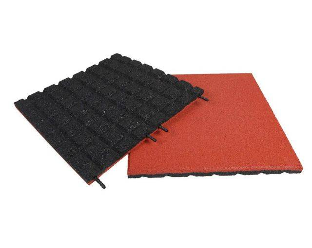 Dflect EPDM Rubber Playground Tile