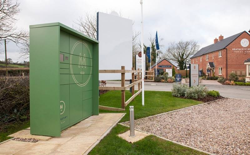 Mulberry Homes - Intelligent Parcel Delivery Boxes