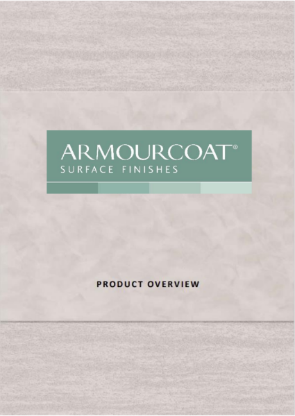 Armourcoat Product Overview