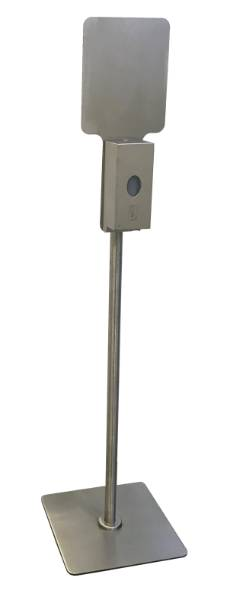 Dispenser Stand for Use with Bobrick's B-2012 & B-2013 Soap Dispensers