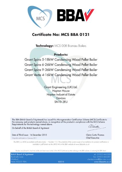 Technology: MCS 008 Biomass Boilers